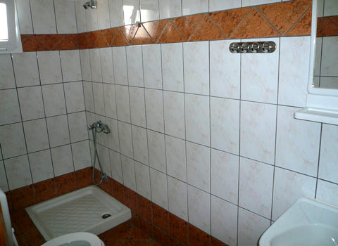 Ένα από τα μπάνια.